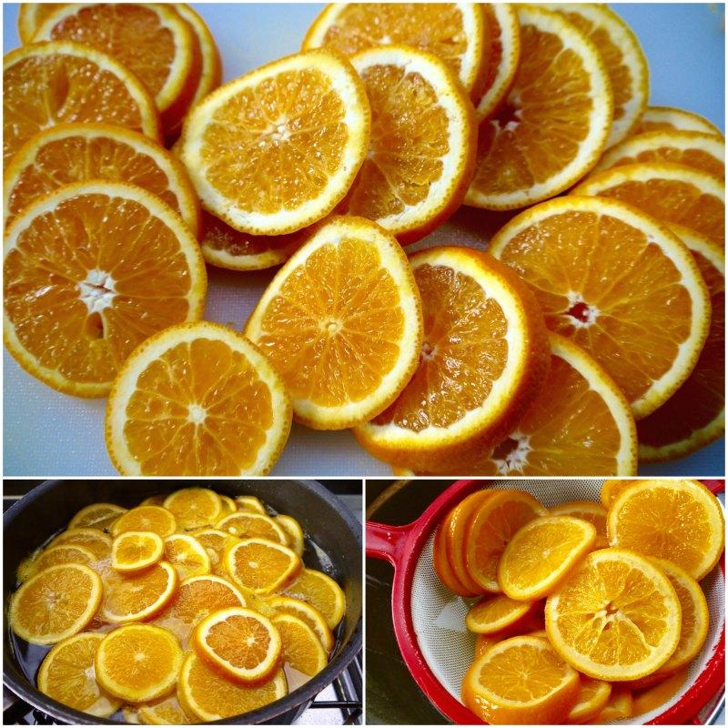 πορτοκαλόπιτα αρωματική - σιρόπι