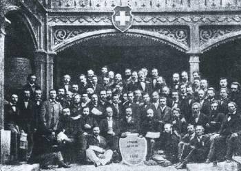 Οι αντιπρόσωποι της Α΄ Διεθνούς