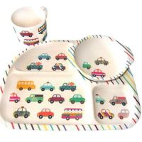bamboe kinder servies – bimbamboo – bamboe kinderservies – kinder servies