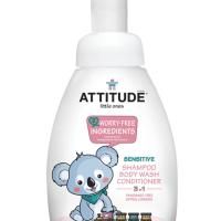 Douchegel zonder parfum - Attitude little ones - natuurlijke shampoo – eco attitude