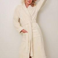 badjas biologisch katoen - Badstof badjas – ochtendjas – badjas badstof – sauna badjas