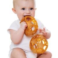 Zachte bal baby – grijpbal baby – baby speelbal – baby bal – natuurlijk baby speelgoed