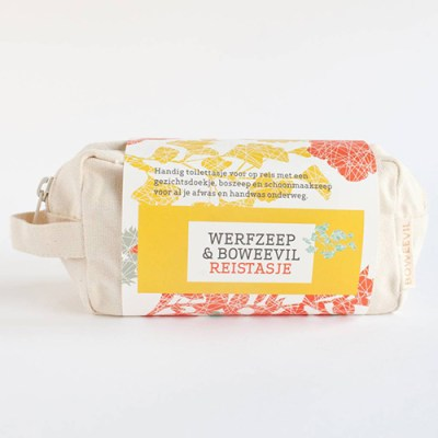 kleine toilettas - reis toilettas – natuurlijke zeep – handgemaakte zeep