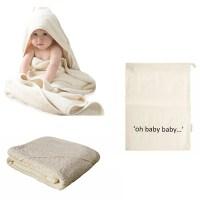 Baby omslagdoek baby wikkeldoek - baby badcape – wikkeldeken - babyhanddoek
