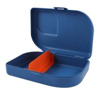eco lunchbox met vakjes - Ajaa broodtrommel met vakjes – duurzame lunchtrommel