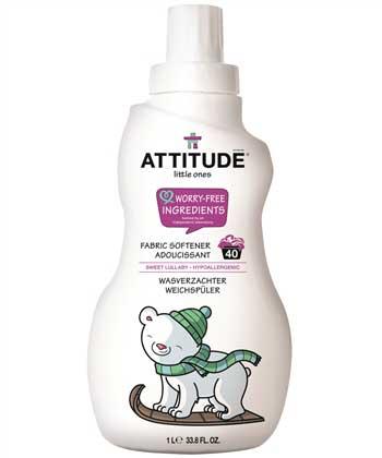 wasverzachter babywas - Attitude wasverzachter - hypoallergeen wasverzachter