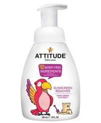 aftersun kind - attitude sunscreen remover - zonnebrandcreme verwijderen