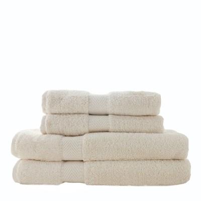 witte handdoekenset - set handdoeken wit - biologische handdoeken set