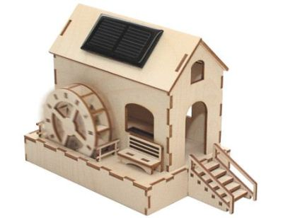 zonne energie speelgoed watermolen - solar zonnecel