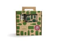 rvs lunchbox en rvs drinkfles - rvs broodtrommel - rvs waterfles – lunchtrommel – water fles