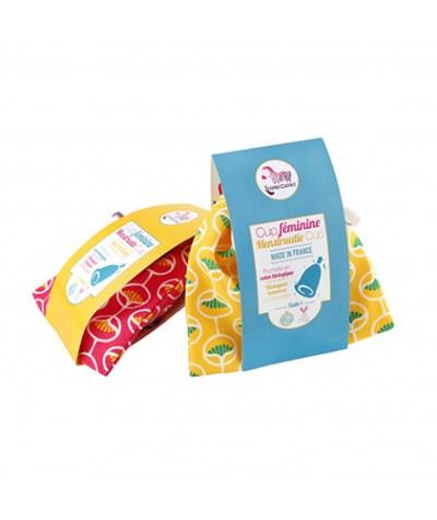 Lamazuna menstruatie cup - cup voor menstruatie - ongesteldheid cup – softcups menstruatie