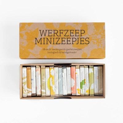 zeep cadeau - zeep pakket - kleine zeepjes - mini zeepjes – ambachtelijke zeep – biologische zeep