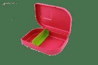 lunchtrommel met vakjes - Ajaa broodtrommel met vakjes - eco lunchbox