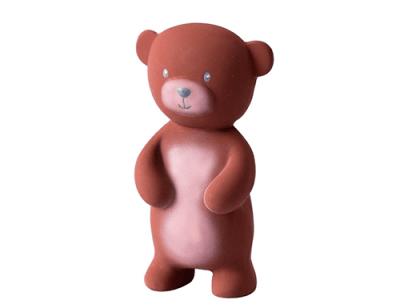 tikiri beer speelgoed baby - bijtspeelgoed - baby speelgoed – knijpdiertje - bijtspeeltje