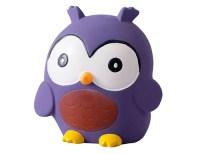 tikiri uil speelgoed baby - bijtspeelgoed - baby speelgoed – knijpdiertje- natuurrubber speelgoed