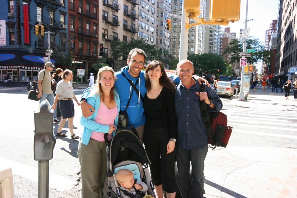 Retrouvailles avec ma cousine Stef, installée à Manhattan, qui nous sert de guide