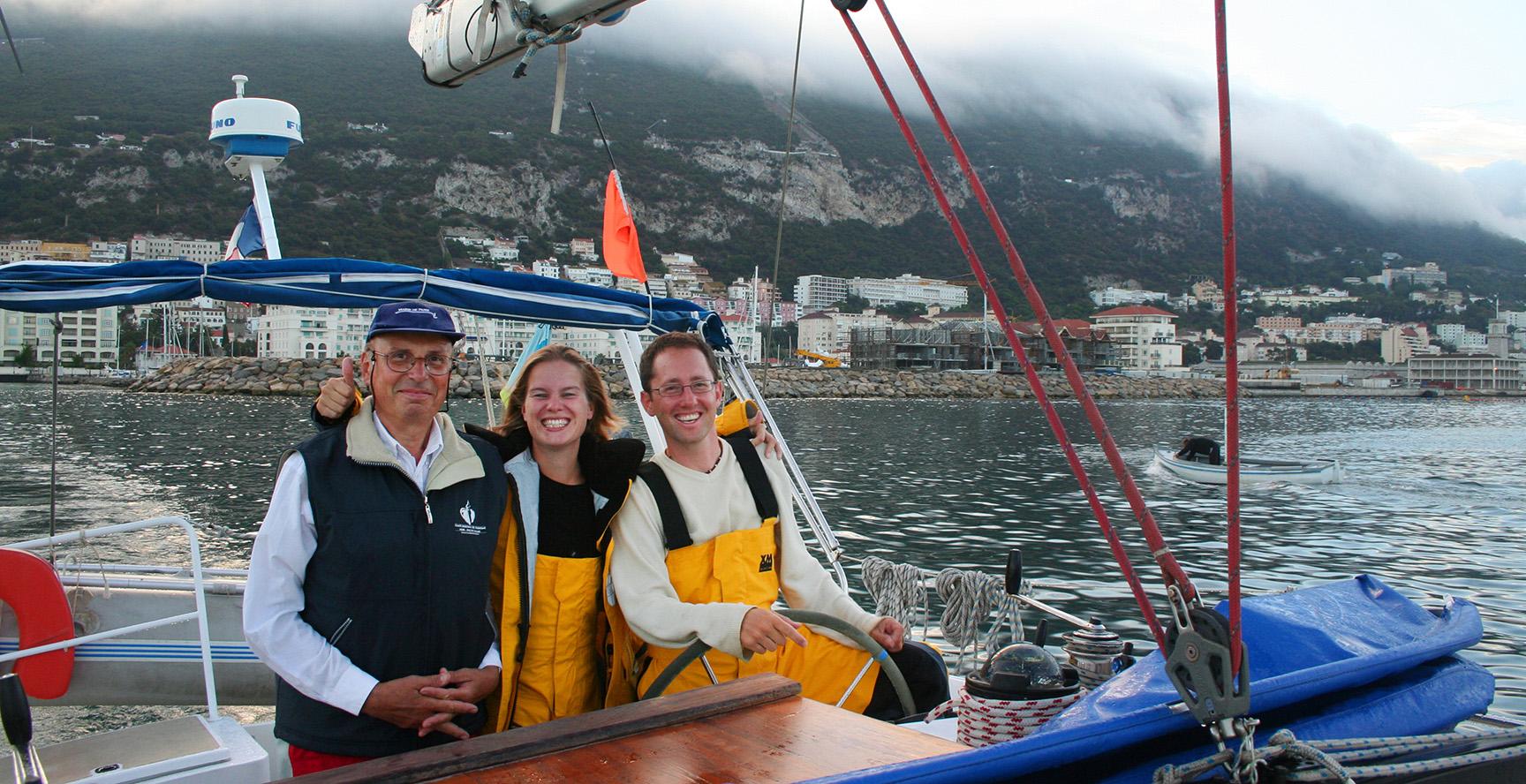 Départ de Gibraltar