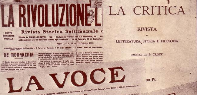 """Le riviste come strumento politico: il caso de """"La Rivoluzione liberale"""""""