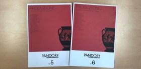 Ricevi i numeri 4, 5 e 6 di Pandora