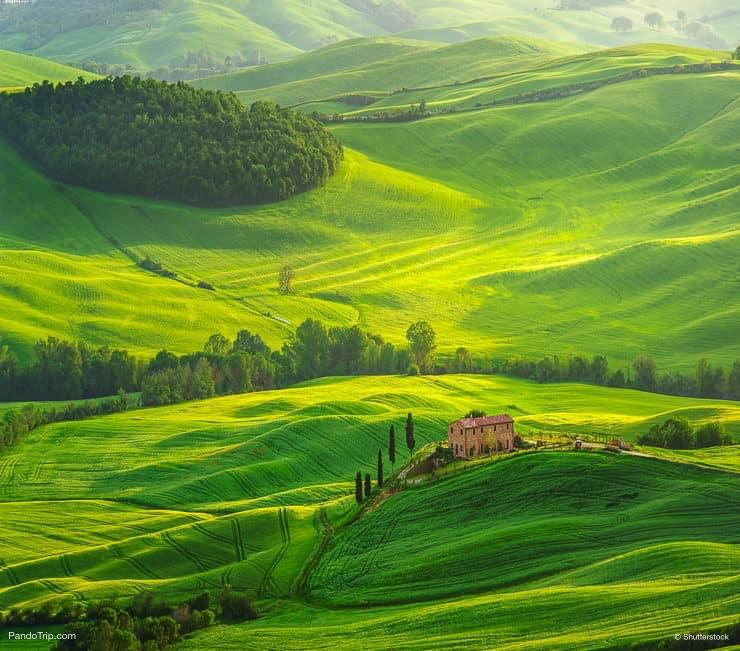 فال دورشيا ، توسكانا ، إيطاليا