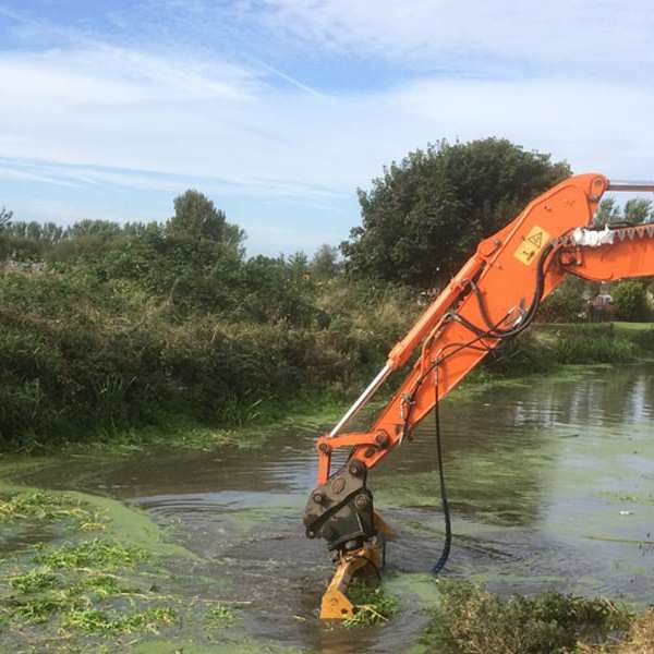 Weed Removal from Rivers