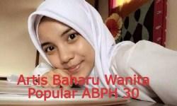 Sweet Farhanna Qismina Binti Supandi Artis Baharu Wanita Popular ABPH 30