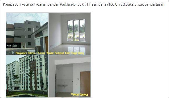 Smart Sewa Selangor - Pangsapuri Asteria, Azaria, Bandar Parklands, Bukit Tinggi,