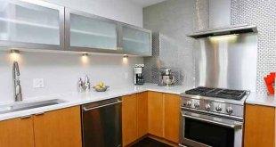 Lemari Dapur Aluminium Kitchen Set Minimalis Kecil Mungil