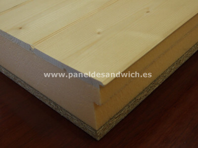 Panel Sandwich Madera
