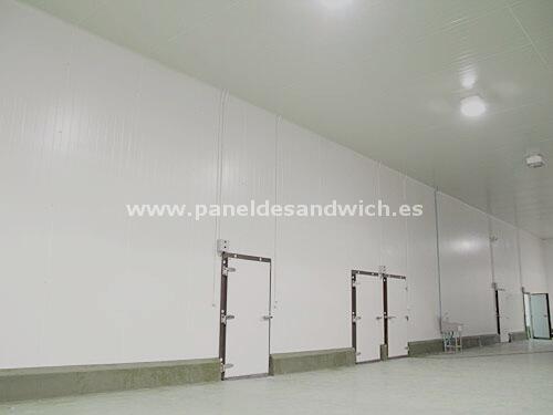 Panel Sandwich para Cámaras de Ultracongelación