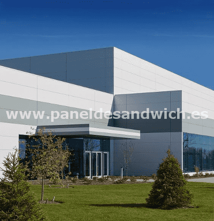 panel sandwich fachada arquitectonica