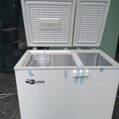 congeladora solar de 188 litros