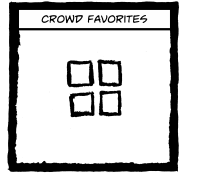Crowd favorites