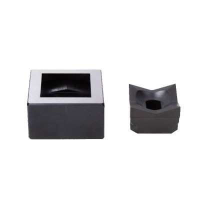 Alfra 1/4 DIN 92 x 92mm Stainless Steel Square Punch/Die Set
