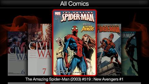 PSP Digital Comics Reader | Panels on Pages