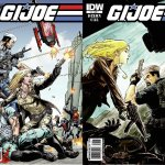 GI Joe #22 and Transformers: Drift #1