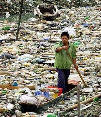 continente de basura