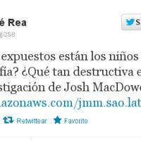 Intolerancia y oscurantismo, auspiciado por José Rea