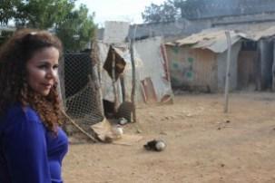 Ministra Iris Valera sonriendo en la cárcel Uribana después de la Masacre