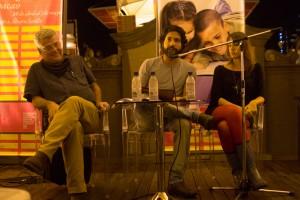 Armando Coll, Rubén Machaen y Alicia Gernández