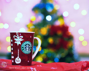A Merry Coffee Christmas my friends. (Front Page)  9,000 visits to this image.  Thank you.