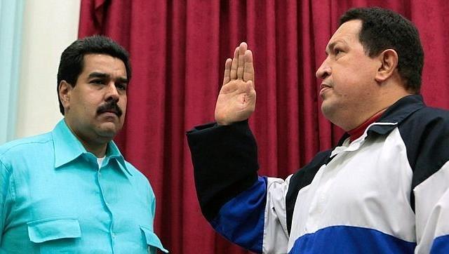 """""""te nombro Hijo de Chávez  y portador de mi legado"""""""