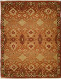 area rug warm colors