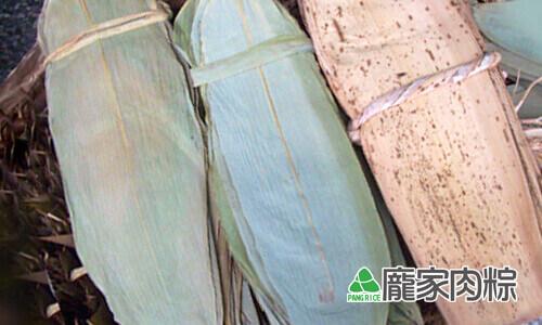 台灣常見的粽葉有哪些