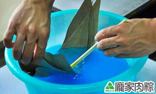 硫酸酮染色粽葉