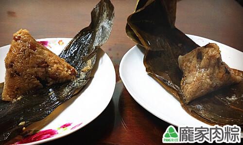 龐家肉粽與別人粽子的不同