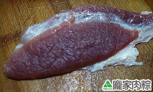 豬肉瘦肉切法-逆紋(端午節包粽子知識推薦)