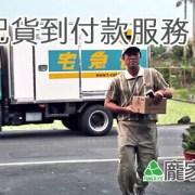 003-03龐家肉粽提供宅配貨到付款服務