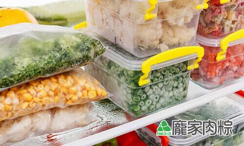 107-01粽子為什麼要冰冷凍庫保存,冰箱食物零下18度C的秘密(肉粽知識推薦)