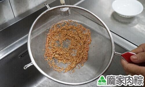 120-05龐家肉粽紅藜清洗教學